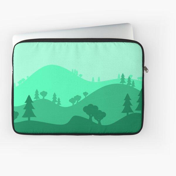 Landscape Blended Green Laptop Sleeve