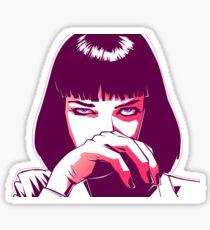Mia Wallace  Sticker