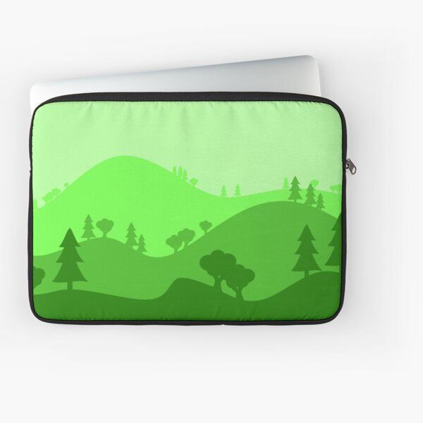 Landscape Blended Green 2 Laptop Sleeve