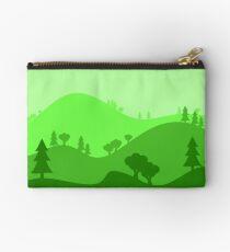 Landscape Blended Green 2 Studio Pouch