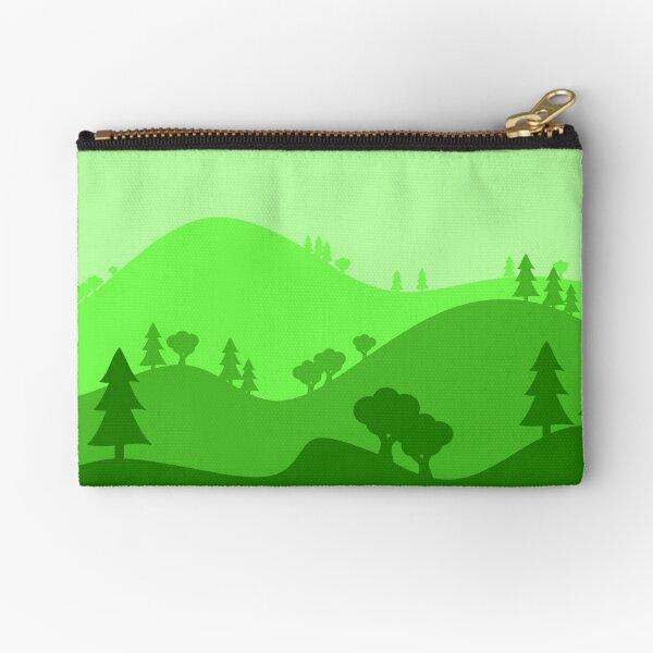 Landscape Blended Green 2 Zipper Pouch