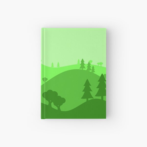 Landscape Blended Green 2 Hardcover Journal