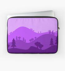 Landscape Blended Purple Laptop Sleeve