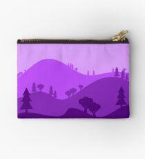 Landscape Blended Purple Studio Pouch