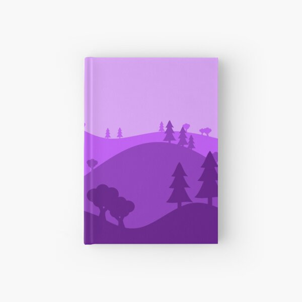 Landscape Blended Purple Hardcover Journal