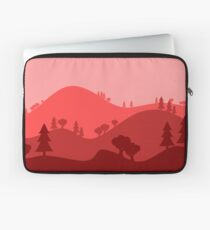 Landscape Blended Red Laptop Sleeve