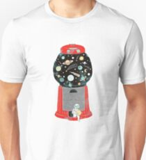 Gumball Machine in Space T-Shirt