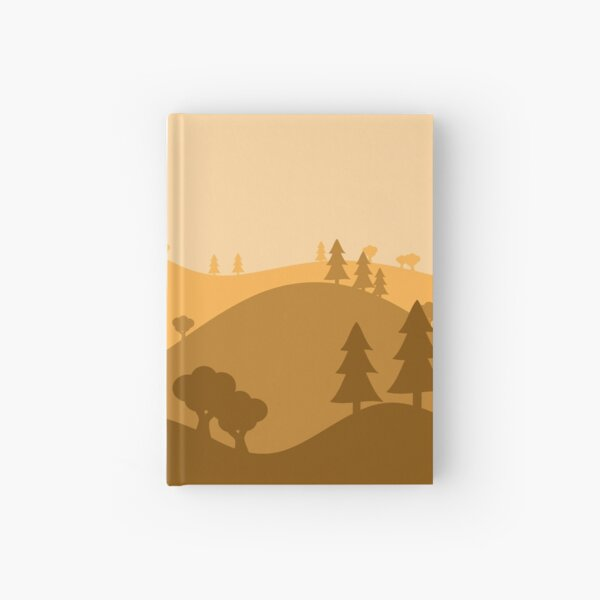 Landscape Blended Yellow Hardcover Journal
