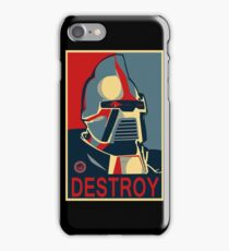 destroy iPhone Case/Skin