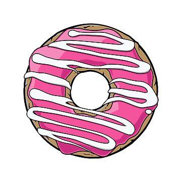 Glazed Donut Artwork by LeCouleur