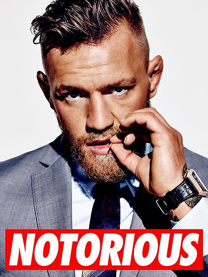 Quot Conor Mcgregor Quot Posters By Maritaheke Redbubble