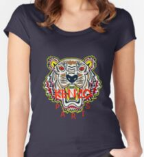 kenzo  Women's Fitted Scoop T-Shirt