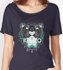 kenzo paris - white Women's Relaxed Fit T-Shirt