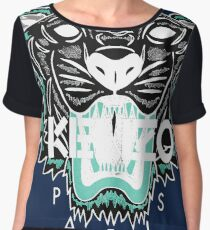 kenzo paris - white Women's Chiffon Top