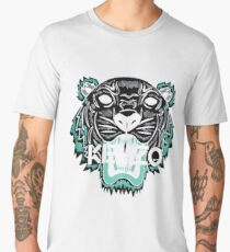 kenzo paris - white Men's Premium T-Shirt
