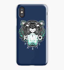 kenzo paris - white iPhone Case/Skin