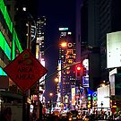 New York night time by Steve plowman