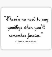 Dance Academy Sticker