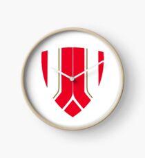 Gunner Shield Club Colours Clock