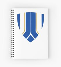 Chelsea Shield Club Colours Spiral Notebook