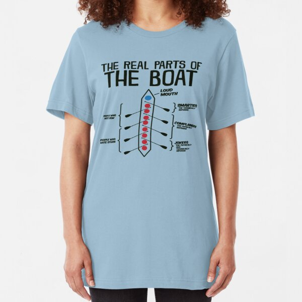 The Real Parts Of The Boat Slim Fit T-Shirt