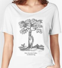 Bent, but never broken. Scoliosis awareness Women's Relaxed Fit T-Shirt