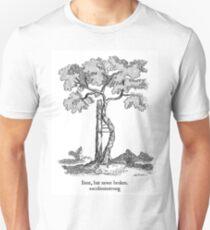 Bent, but never broken. Scoliosis awareness Unisex T-Shirt