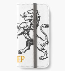 The Lion does not concern himself with the opinions of the sheep iPhone Wallet/Case/Skin