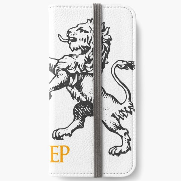 The Lion does not concern himself with the opinions of the sheep iPhone Wallet