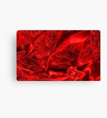 Find A Way To My Heart - Red abstract  Art + Products Design  Canvas Print