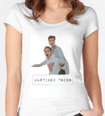 Martinez Twins Women's Fitted Scoop T-Shirt