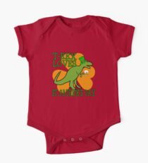 T-REX LOVES ST. PATRICK'S DAY One Piece - Short Sleeve
