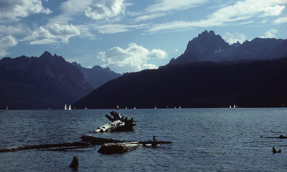 Regatta on Angel Lake by bertspix