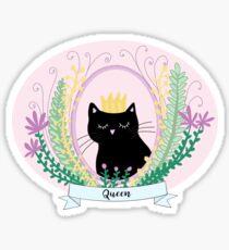 Queen Kitty Sticker