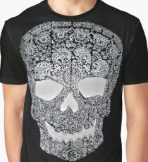 Macabre lace skull Graphic T-Shirt