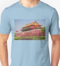 China. Beijing. Tiananmen. Gate of Heavenly Peace. Unisex T-Shirt