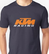 The KTM Racing  Unisex T-Shirt