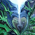 Straight to My Heart - Abstract  Art + Products Design  by haya1812