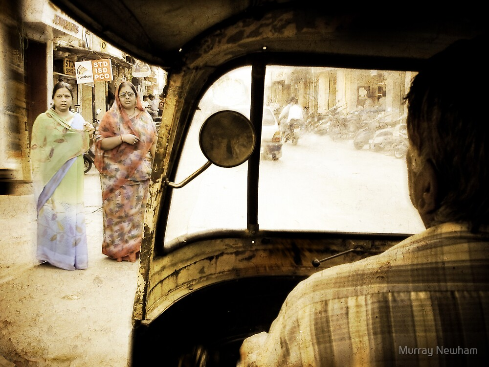 Udaipur Rickshaw by Murray Newham