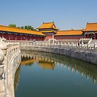 China. Beijing. The Forbidden City. Canal. by vadim19