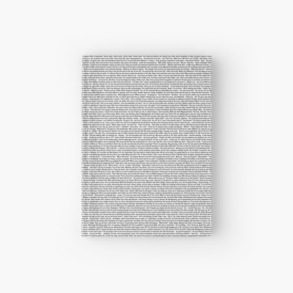 The Entire Bee Movie Script Hardcover Journal