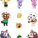 Animal Crossing Stickers! by Eriray076