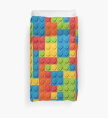 Love Bricks Theme Duvet Cover