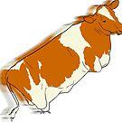 Cow from Udder by Aidan Markham