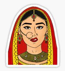 Ain't No Wifey - Indian Bride Sticker