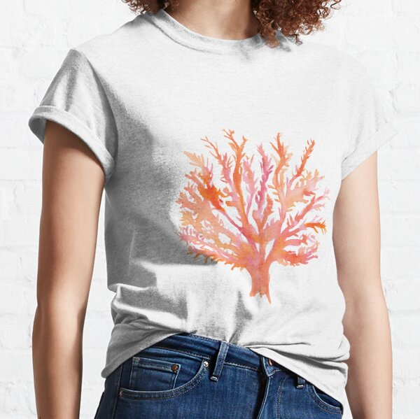 Coral - Watercolour - Great Barrier Reef Classic T-Shirt