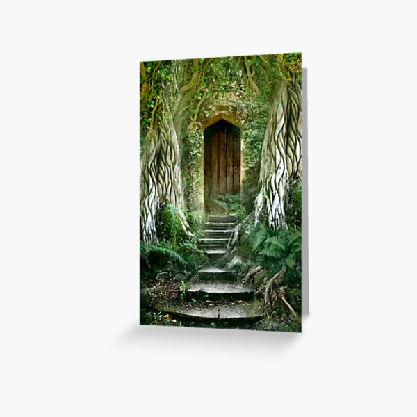 The Secret Door Greeting Card