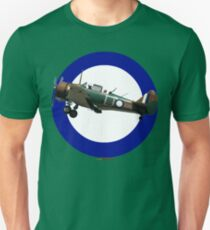 Pacific WW2 RAAF Roundel Ca-16 Wirraway VH-AGH Design Unisex T-Shirt