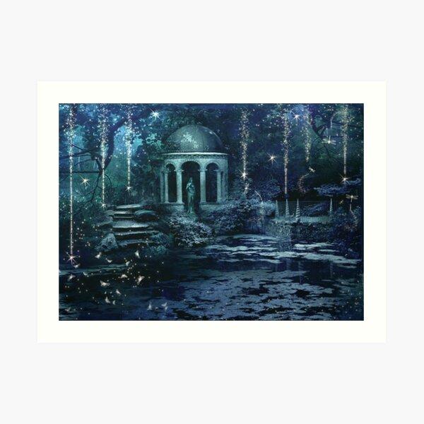The Midnight Garden Art Print
