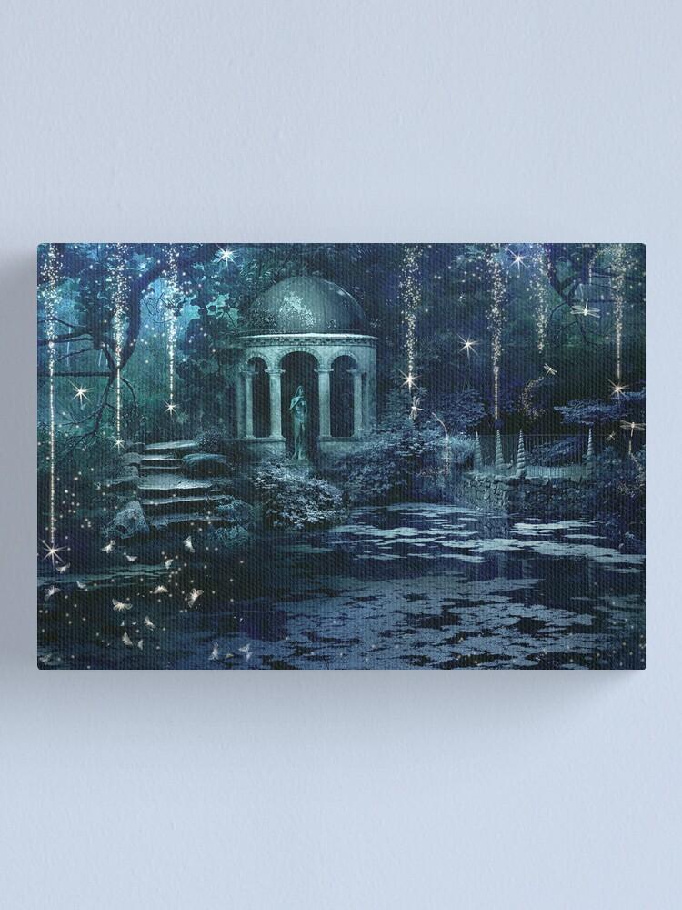 Alternate view of The Midnight Garden Canvas Print